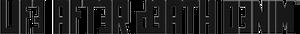 Life After Death Denim logo